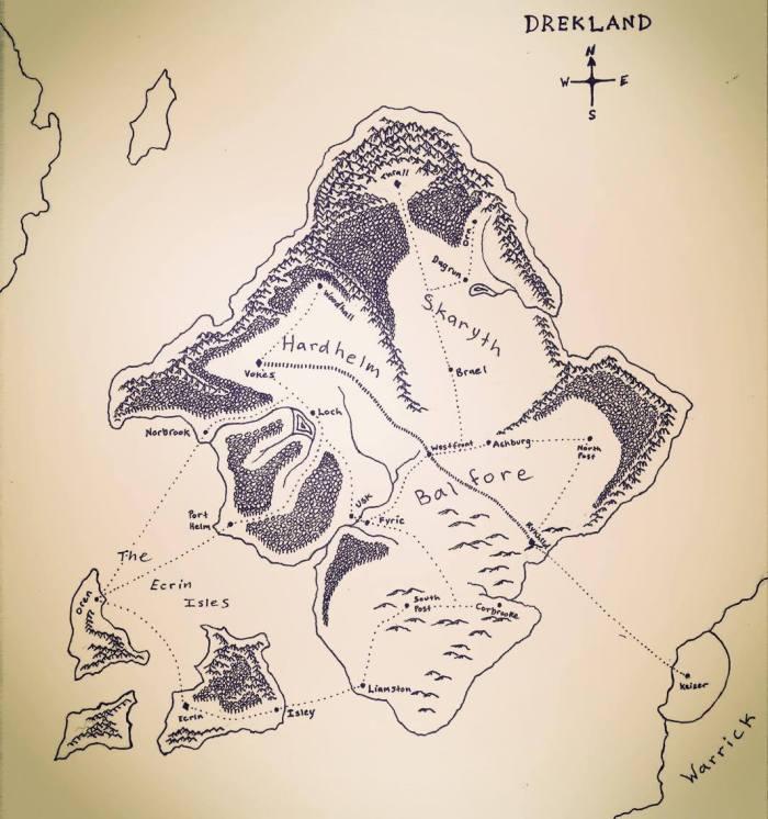 Drekland Map